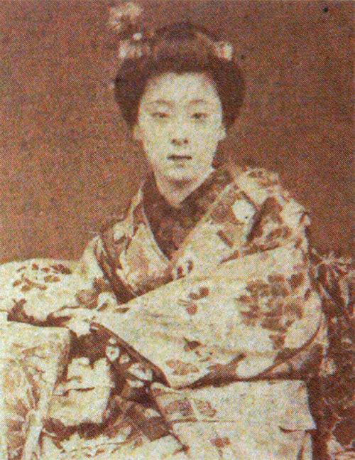 9位:江良加代(祇園の芸妓)の写真(ガチで美人過ぎる幕末女性ランキング)