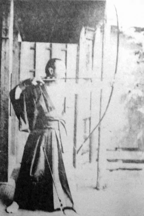 徳川慶喜の弓道写真
