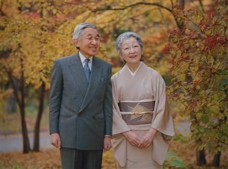 今上天皇、皇后美智子様の御写真