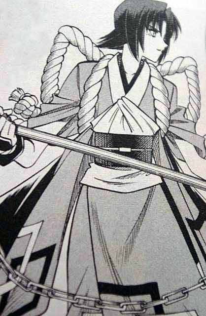 """""""大鎌""""の鎌足こと、 本条鎌足(るろうに剣心)"""