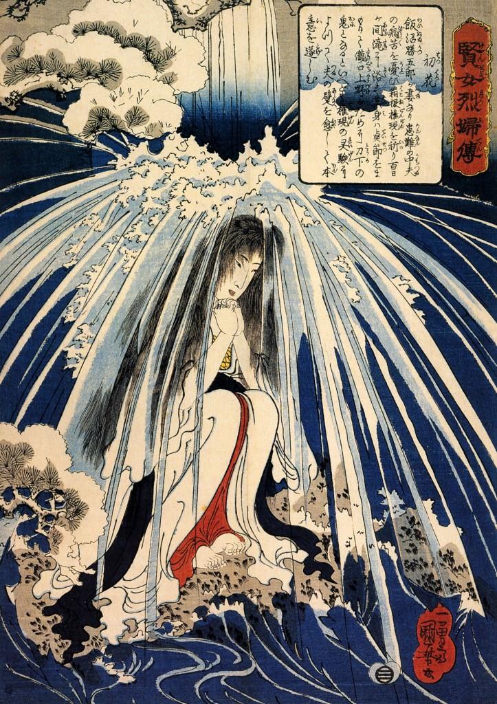 賢女烈婦伝 初花(幕末の浮世絵師・歌川国芳の画)の拡大画像