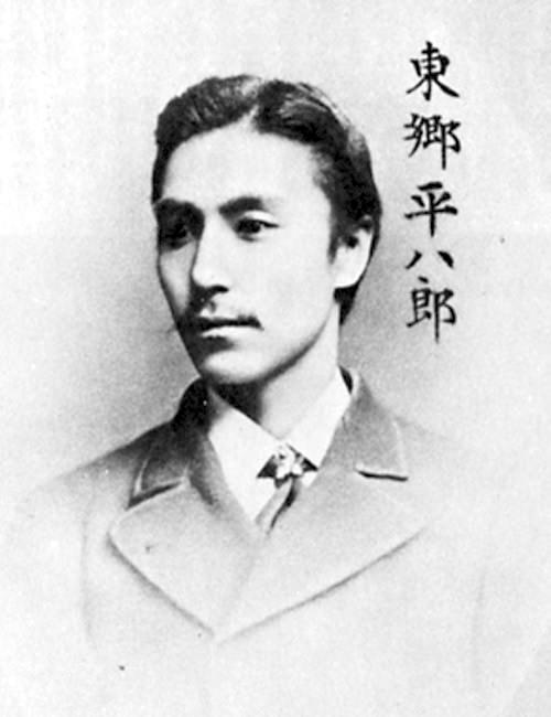 東郷平八郎(現代にも通用する幕末のイケメンランキング)