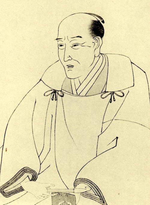 柳亭種彦の肖像画