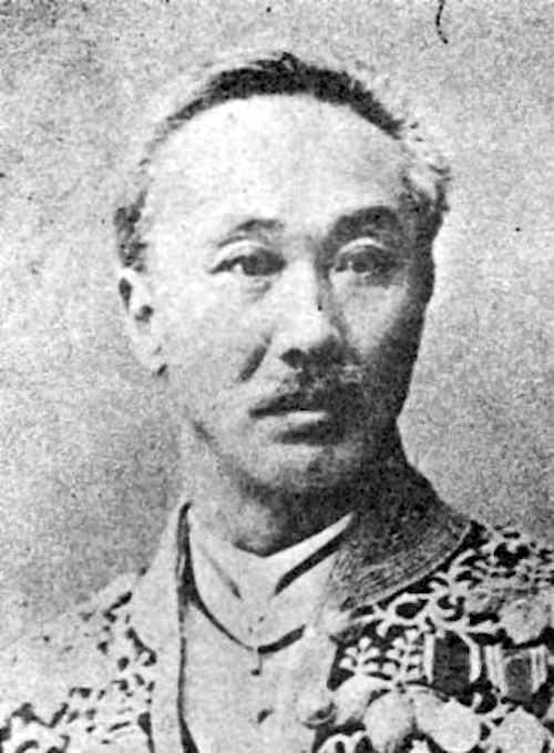 岩村精一郎(のち高俊)の写真