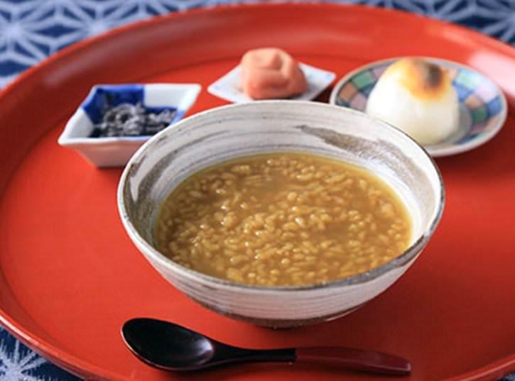 おかいさん(茶粥、和歌山の郷土食)の拡大画像