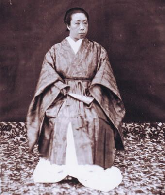 晩年の篤姫(天璋院)の写真