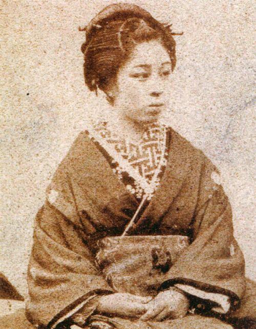 3位:一条美賀子(徳川慶喜 正室)の写真(ガチで美人過ぎる幕末女性ランキング)