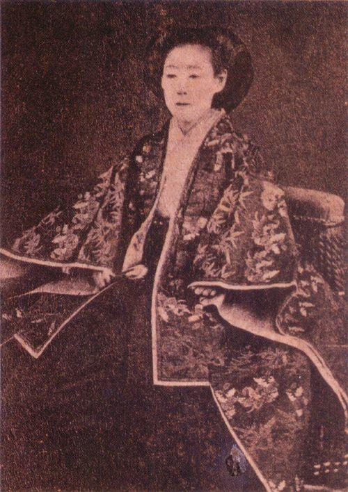 8位:皇女和宮(徳川家茂の正室)の写真(ガチで美人過ぎる幕末女性ランキング)
