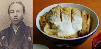 三朝庵の卵とじカツ丼