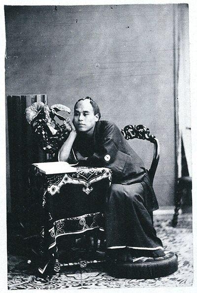 福澤諭吉の写真(若い頃)