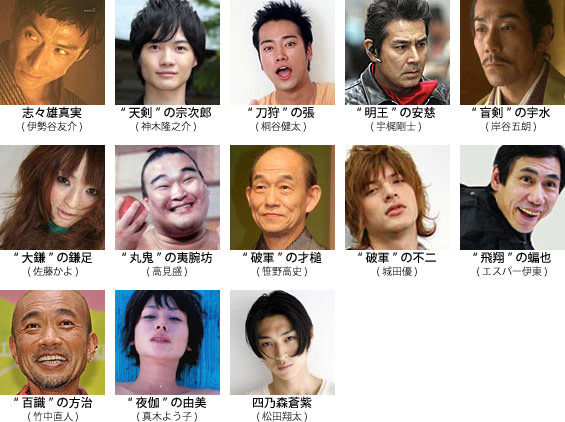 映画『るろうに剣心』続編のキャスト予想